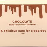 Bad day - Choco hug kaartje