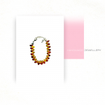 Color Drops yellow-red armband