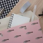 Etui Pink Fish medium