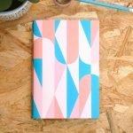 Retro notitieboek
