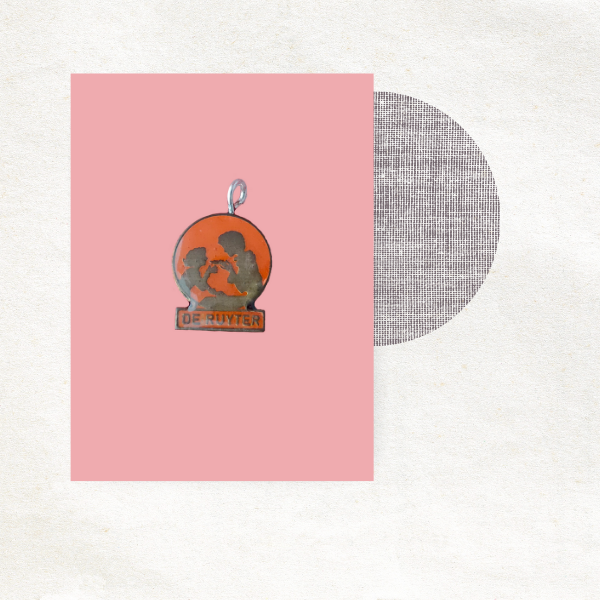 Retro bedel - De Ruijter - Epic Charm - oranje