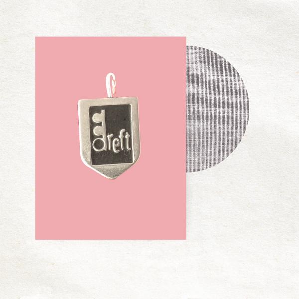Retro bedel - Dreft - zwart - epic charm