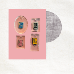Sleutelhanger met retro bedeltje - Dreft