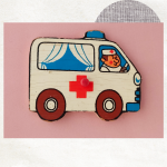 Ambulance magneet