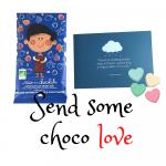 Geef een persoonlijke choco hug cadeau - Melk met noten en vruchten