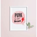 Punk is not dead A4 formaat