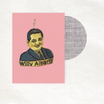 Retro bedeltje - Willy Alberti