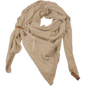 Sjaal lot83 Zandkleur