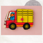 Vrachtwagen magneet