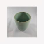 Koffiebeker zacht groen